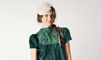 Коллекция валяной одежды Mademoiselle от Лены Баймут.