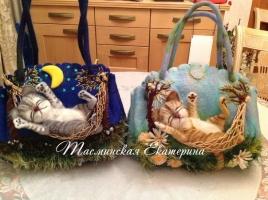 Сказочные валяные сумки Екатерины Тасминской Москва