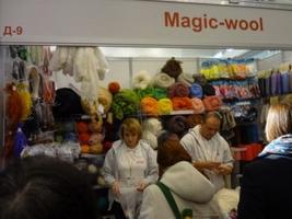Участие Magic-wool в выставке Золотые руки мастеров 2015г