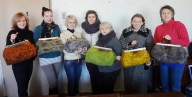 Диана Нагорная. 20-21 марта 2014г мастер-класс по саквояжу