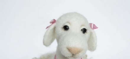 Мастер класс по валянию овечки