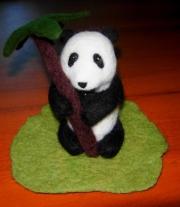 Войлочная игрушка Панда