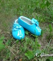 тапочки Голубая мечта