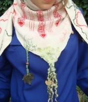 Войлочный платок- бактус