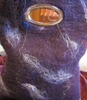 сумка фиолет