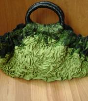 Валяная сумочка