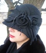 шляпка Зимняя ночь мастера Иванова Виктория