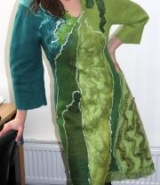 Платье цельноваляное