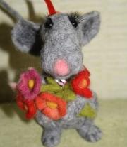 мышь Мариетта мастера Iren Bedrak