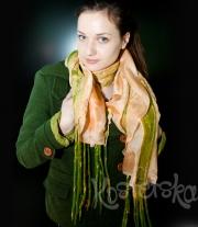 "Авторский шарф ""Green River"""
