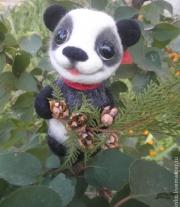 валяная игрушка Милашка Панда