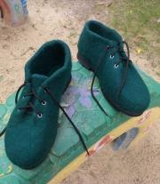 туфельки войлочные женские на заказ