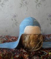 детская шапка ушанка-шлемофон мастера Белик Нина Александровна