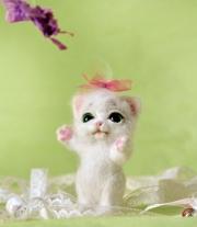 Кошечка Снежинка