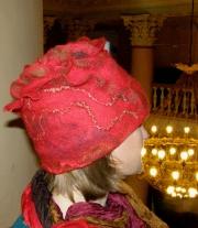 Красный огненный цветок мастера Томера Татьяна Иванова Виктория Евгеньевна