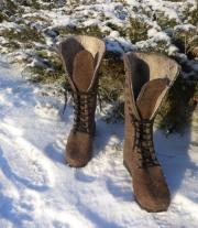 ботинки валяные 39р-р