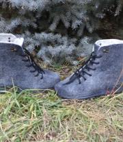ботиночки из шерсти мужские 41р-р мастера марина козуб