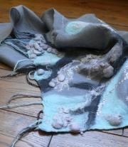 валяний шарф