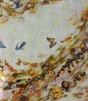 Картина из шерсти