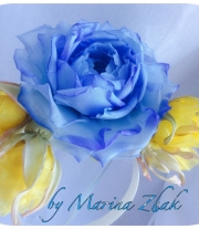 Ободочек с розами -