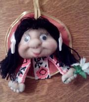 кукла талисман на удачу