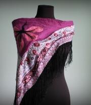 Турчанка - валяный шарф / платок