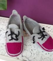 Тапочки«Трохи Puma, трохи Adidas…)))» мастера Мелания