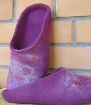 Тапочки цвета фуксии