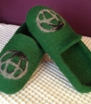 Тапочки «Зеленая Toyota»))