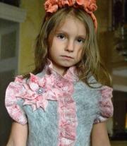 Костюм для девочки Серенький с розовым