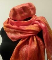 Комплект шарф и берет