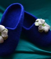 Тапочки для леди мастера Кущенко Елена