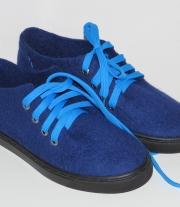 Валяные демисезонные туфли