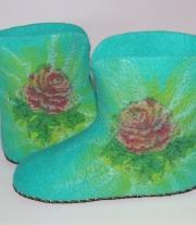 Валяная обувь для дома