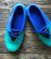 Тапочки-туфли для дома
