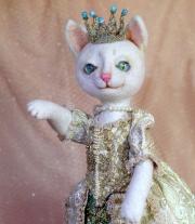 кошка королева мастера Парасочка Ирина