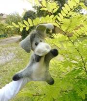 Игрушка на руку ослик Иа .