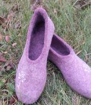 Валяные туфельки
