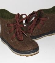 Валяные детские ботинки