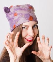 Валяная шапка