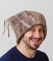 Валяная шапка МУЖСКАЯ