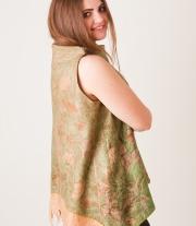 Блуза женская валяная