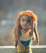 Кукла с дредами