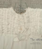 Flower Girl Шелковое платье для юной подружки невесты