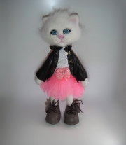 Интерьерная игрушка Кошечка (Кошка)
