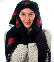 Валяный платок