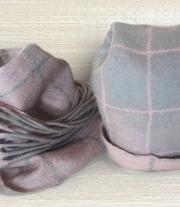 Шапка и шарф. Комплект