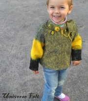Куртка валяная детская