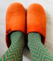 Тапочки «Оранжевое настроение»