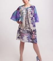 Платье батик